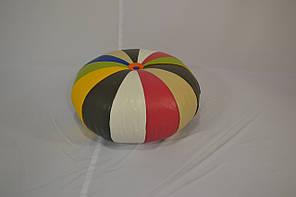 Пуфик Шайба Разноцветный Экокожа, фото 2