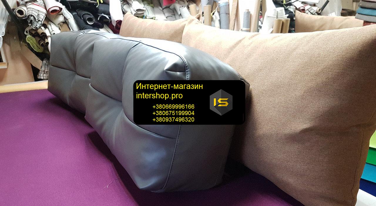 Подушка для дивана 600х500мм наповнювач холлофайбер