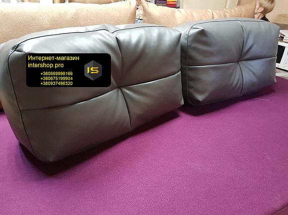 Подушка для дивана 600х500мм наповнювач холлофайбер, фото 2