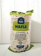 Рисовые хлебцы Pano Wafle ryzowe naturalne 100гр (Польша)