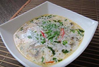 Кокосовый суп с кокосовым молоком DanSoy