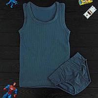 Комплект детский Donella темно-бирюзовый для мальчика на 6/7 лет | 1шт.