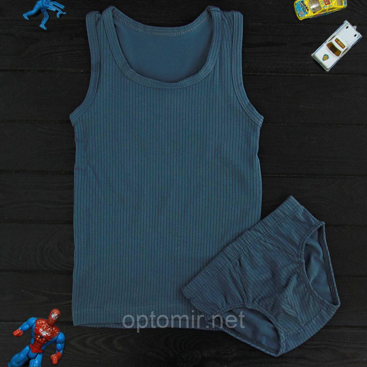 Комплект детский Donella темно-бирюзовый для мальчика на 8/9 лет | 1шт.