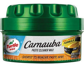 Полироль паста Turtle Wax Carnauba Paste Cleaner Wax 397г