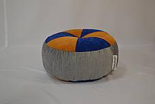 Пуфик Шайба Флок с мебельной тканью, фото 3