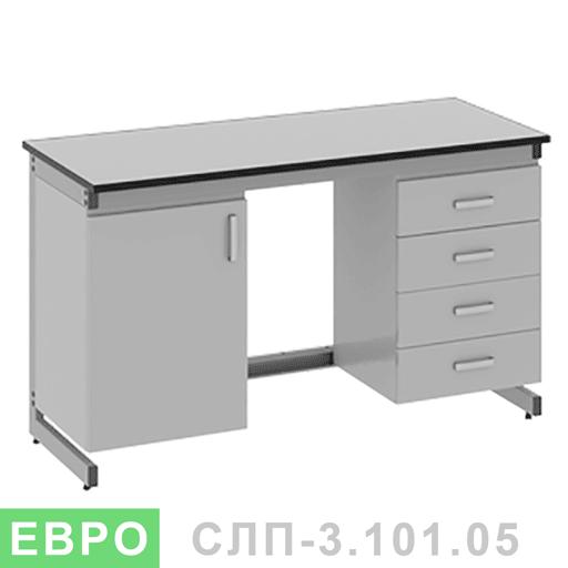 Стол лабораторный пристенный СЛП-3.111.05