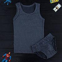 Комплект детский Donella Турция темно-синий для мальчика на 8/9 лет | 1 шт.