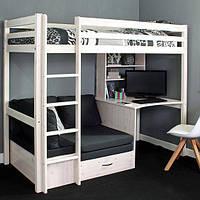 Двухьярусная кровать в стиле LOFT (Bed - 030)