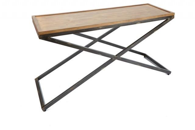 Кавовий Журнальний столик у стилі LOFT (Table - 549)