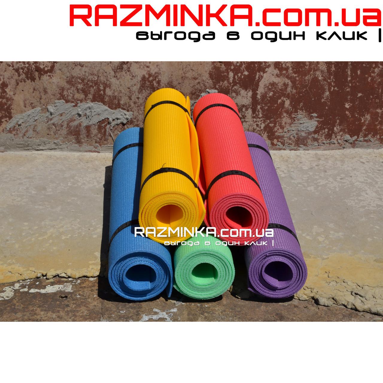 Детский коврик для фитнеса 110х50см, толщина 5мм (20шт)