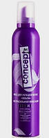 Мусс для укладки волос экстрасильной фиксации Concept 300 мл.