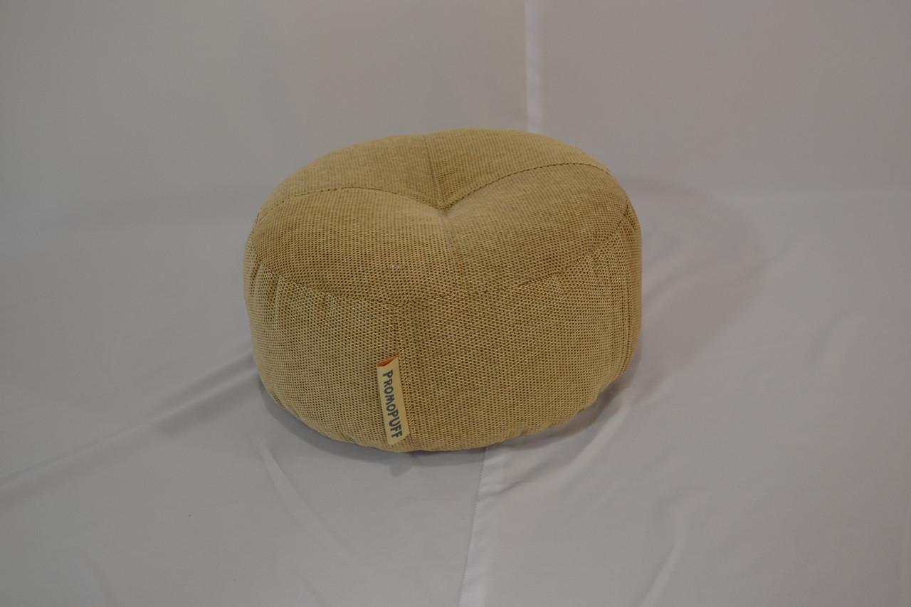 Пуфик шайба из мебельной ткани