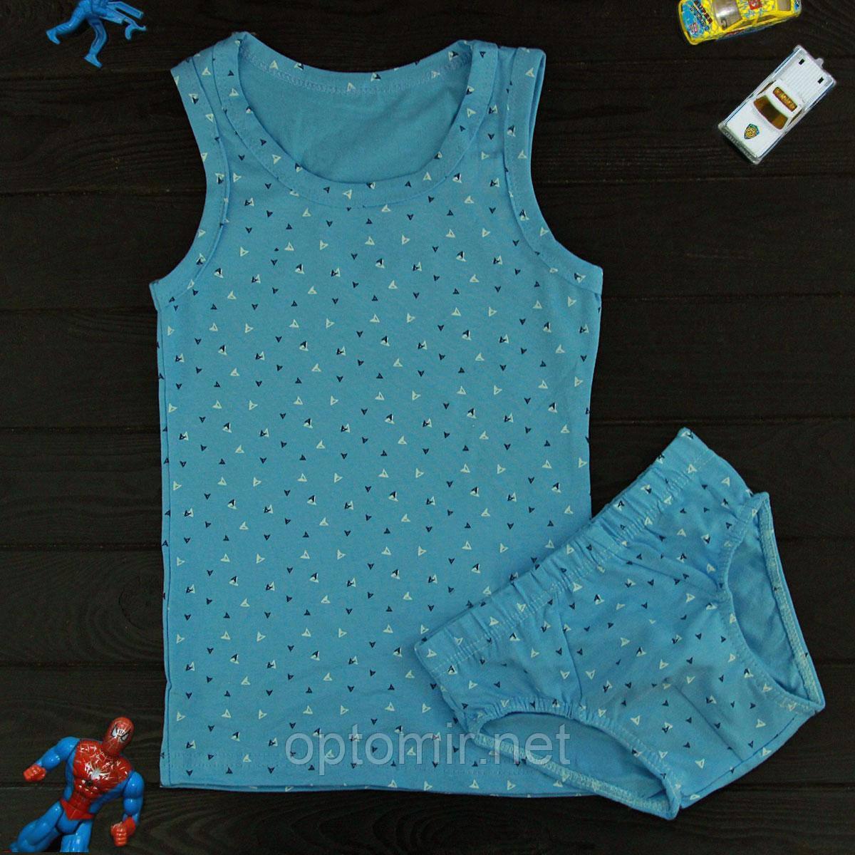 Комплект детский Donella бирюзовый для мальчика на 6/7 лет | 1шт.