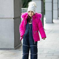 Комбинезон детский зимний для девочек