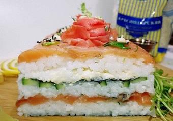 Суші-торт c рисовим оцтом DanSoy