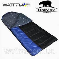 """⭐ Спальный мешок (0 °C) """"Balmax (Аляска) Camping Plus series"""", одеяло с подголовником. Размер:230x85"""