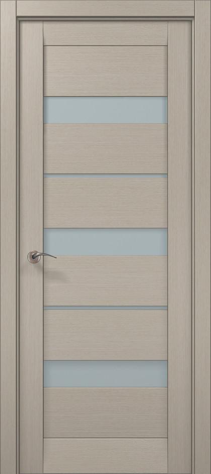 Дверное полотно 2000х610х40 Папа Карло Millenium ML-22 Дуб кремовый