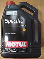 Синтетическое моторное масло MOTUL 5W20 Specific (5L) (FORD WSS M2C 948-B) 867351 - Франция