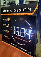 Новинка!Сверхяркие диодные часы с тонким корпусом.