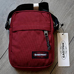 Мужская сумка мессенджер Eastpak THE ONE Country Beige EK04519O. Живое фото! (Реплика ААА+)
