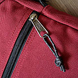 Мужская сумка мессенджер Eastpak THE ONE Country Beige EK04519O сумка через плечо. Живое фото. Реплика, фото 7