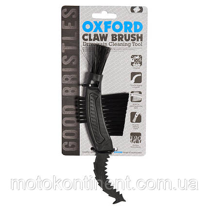Щетка для чистки цепи и звезд мотоцикла  OXFORD Claw Brush OX245 , фото 2