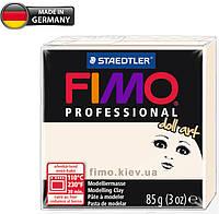 Полимерная глина FIMO Professional doll art 8027-03 (porcelain semi-opaque, полупрозрачный фарфор), 85 г.