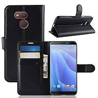 Чехол Luxury для HTC Desire 12s книжка черный