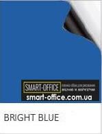 Магнитный винил с синим грифельным покрытием шириной 1,2м.