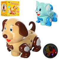 Детская интерактивная игрушка Животное JY018-1-2, 17 см, 2 вида (кошка,собака)