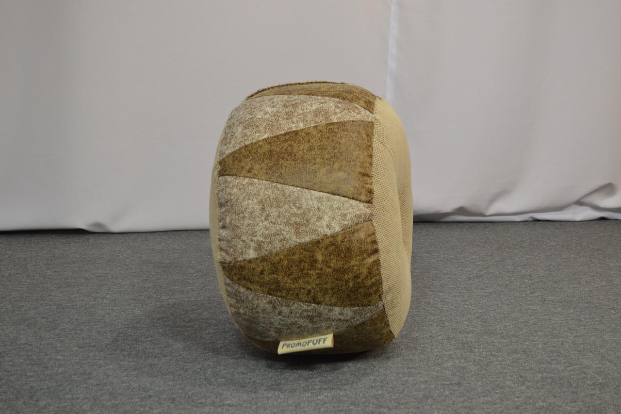 Пуфик Шайба Искусственная замша и мебельная ткань