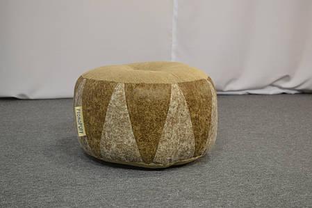 Пуфик Шайба Искусственная замша и мебельная ткань, фото 2