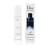 Christian Dior Sauvage масляный пробник парфюмерии 10 ml (реплика)