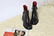 Кожаные ботинки с цепью Atomio Lardini, фото 3