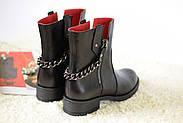 Кожаные ботинки с цепью Atomio Lardini, фото 4