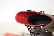 Кожаные ботинки с цепью Atomio Lardini, фото 6