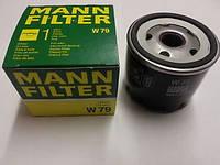 Фильтр масляный на Renault Trafic (Трафик) Opel Vivaro (Виваро) с 2001 года 1.9dCi MANN W79