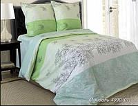 Ткань для постельного белья, бязь набивная, МИНДАЛЬ