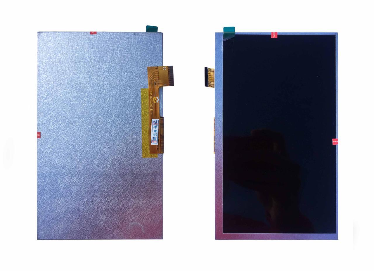Дисплей, матрица для планшета 164x97mm 30pin 1024x600 WY070ML186
