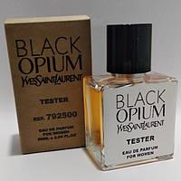 Женская туалетная вода Yves Saint Laurent Black Opium (Ивсент Лоран Опиум Блэк ) тестер 50 мл (реплика)