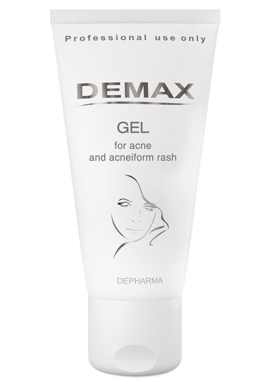 Активный себорегулирующий гель Demax Gel for acne and acneiform rash 150ml арт.150