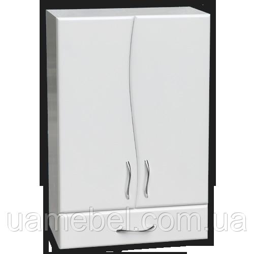 Шкаф в ванную Ш-501-801 волна