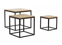 Кофейный Журнальный столик в стиле LOFT (Table - 587)