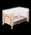 Кроватка туристическая Lionelo Suzie Brown-Beige, фото 4