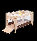 Кроватка туристическая Lionelo Suzie Brown-Beige, фото 5