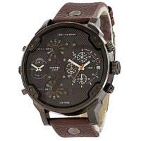 Мужские наручные часы Diesel DZ7314 Brown-Black-Orange. Реплика