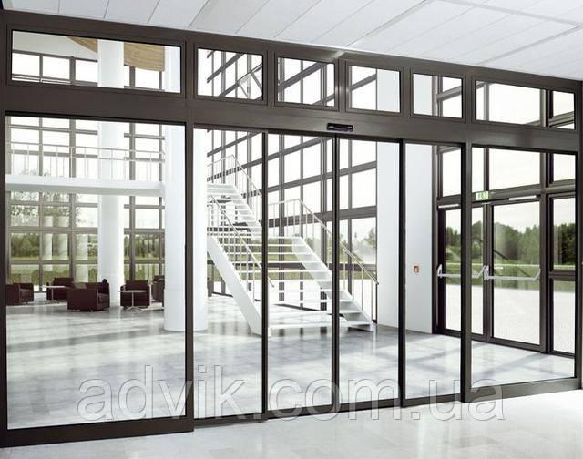 Телескопические автоматические раздвижные двери G-U GS-100Т