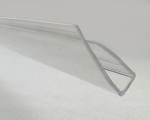 Торцевой профиль Oscar UP 6мм прозрачный 2100мм
