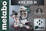 Торцовочная пила METABO KGS 305 M