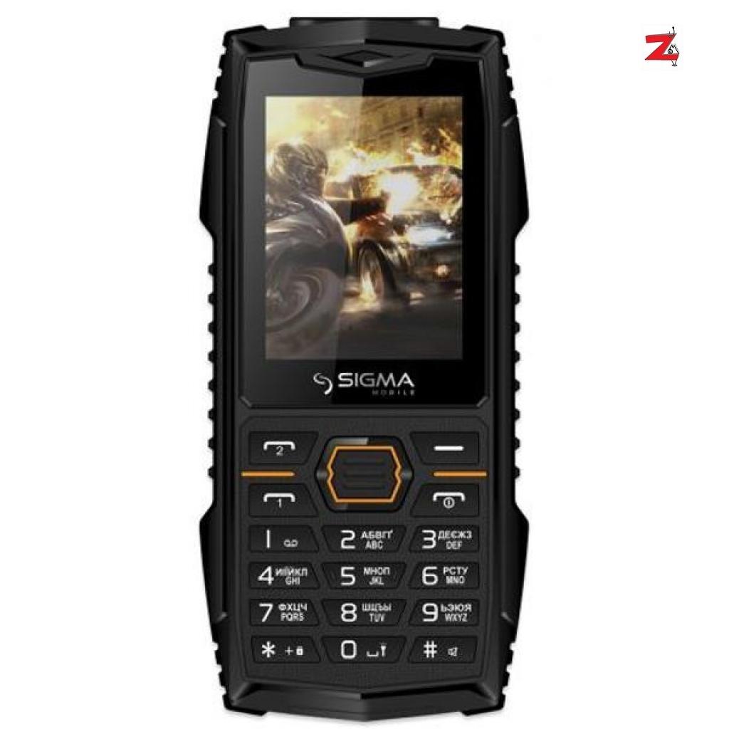 Мобільний телефон Sigma X-treme AZ68 Black